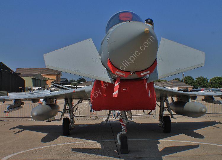 Ref EUR18 Eurofighter Typhoon FGR4 ZK323 RAF RNAS Yeovilton Somerset Gt Britain 2013 (C)RLT Aviation And Maritime Images 2018