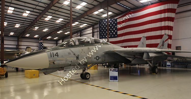 Ref GF14-5 Grumman F14A Tomcat 161134 USN Ack-Valiant Air Command Titusville Florida USA 2015 (C)RLT Aviation And Maritime Images 2018 opt