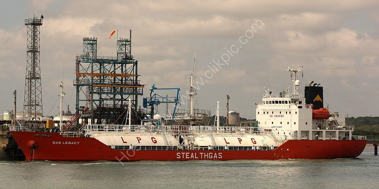 Ref GT11 Gas  Legacy Gas Tanker Fawley Refinery Hampshire Gt Britain 2010 (C)RLT Aviation And Maritime Images 2018