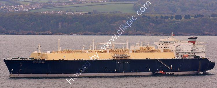 Ref GT1 British Trader Gas Tanker Torbay Devon Gt Britain 2010 (C)RLT Aviation And Maritime Images 2018