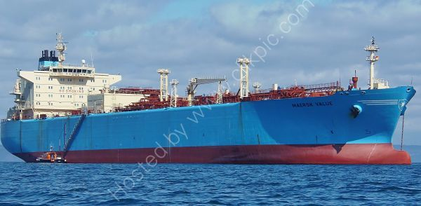 Ref GT25 Maersk Value Gas Tanker Torbay Deep Water Anchorage Devon Gt Britain 2013 (C)RLT Aviation And Maritime Images 2018