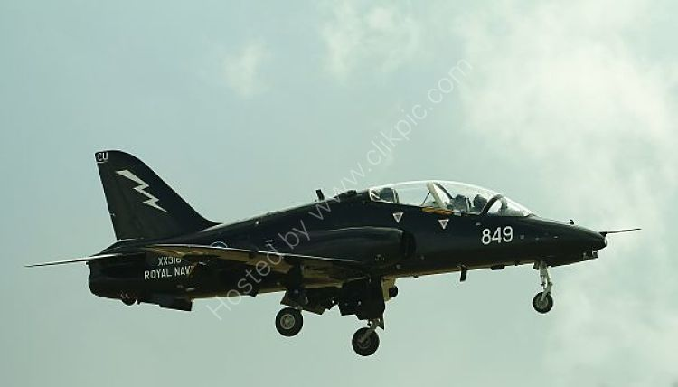 Ref HK1 38 BAE Hawk T1A XX316 Royal Navy (FRADU) RNAS Culdrose Cornwall Gt Britain 2015 (C)RLT Aviation And Maritime Images 2018
