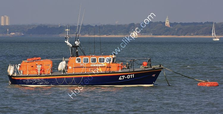 Ref LBRV14 RNLB The Lady Rank 47-011 RNLI Tyne Class Lifeboat Calshot Southampton Water Hampshire GB 2010 (C)RLT Aviation And Maritime Images 2018 opt