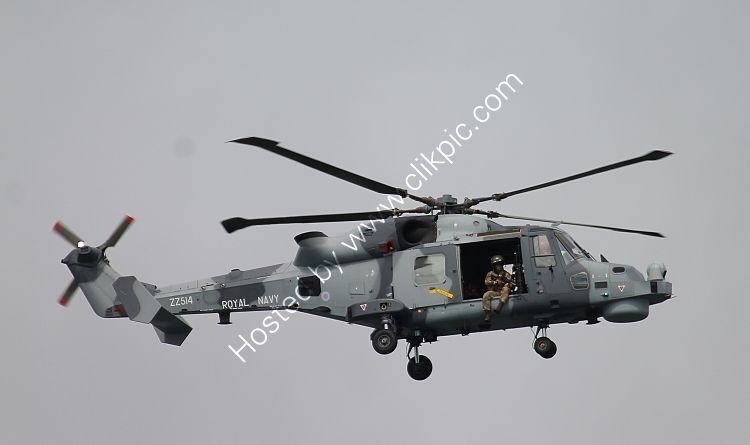 Ref LEO-42 Leonardo AW159 Wildcat HMA2 Royal Navy ZZ514 Bournemouth Air Show Hampshire Gt Britain 2015 (C)RLT Aviation And Maritime Images 2018 opt