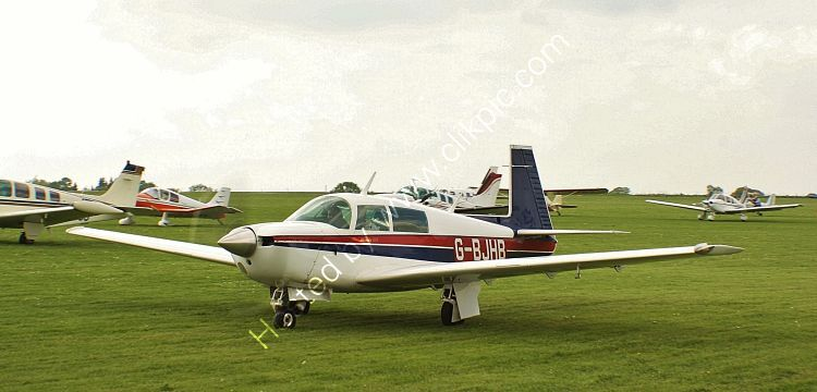 Ref MEY1 Mooney M20 201 G-BJHB Sywell Aerodrome Northamptonshire Gt Britain 2013 (C)RLT Aviation And Maritime Images 2018 opt