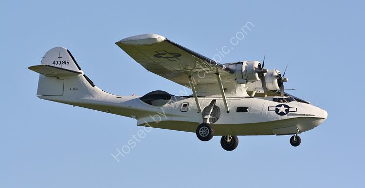 Ref PBY51 Consolidated PBY5 Catalina Canso 433915 G-PBYA Private Ownership Duxford Aerodrome Cambridgeshire Gt Britain 2010 (C)RLT Aviation And Maritime Images 2018