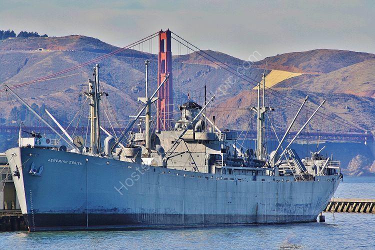 Ref PSDJO-4 Jeremiah OBrien Preserved World War 2 American Liberty Ship Port Of San Francisco California USA 2010 (C)RLT Aviation And Maritime Images 2018
