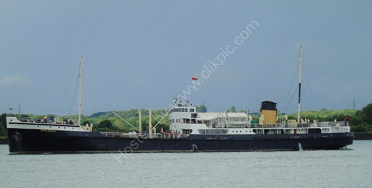 Ref PSGB-18 Shieldhall Preserved Steam Cargo Ship Southampton Water Hampshire Gt Britain 2017 (C)RLT Aviation And Maritime Images 2018