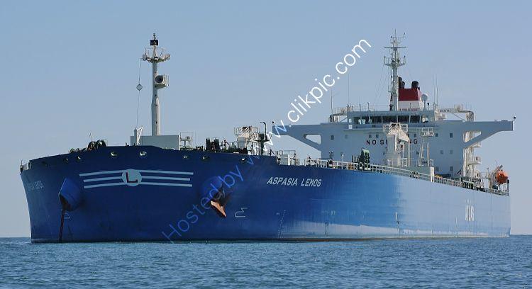 Ref PVT197 Aspasia Lemos Tanker Torbay Deep Water Anchorage Torbay Devon Gt Britain 2010 (C) RLT Aviation And Maritime Images 2018