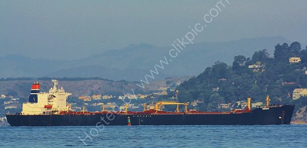 Ref PVT1 Sierra Tanker San Francisco Bay USA 2010 (C)RLT Aviation And Maritime Images 2018