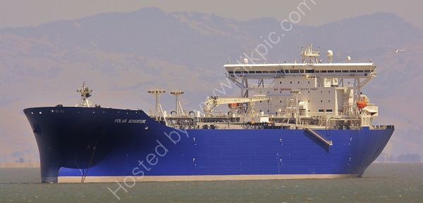 Ref PVT205 Polar Adventure Tanker Oakland USA 2010 (C)RLT Aviation And Maritime Images 2018
