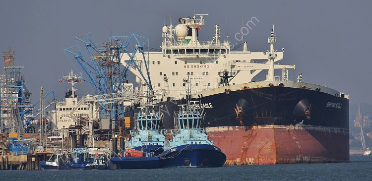 Ref PVT86 British  Eagle Tanker Fawley Oil Refinery Hampshire Gt Britain 2010 (C)RLT Aviation And Maritime Images 2018