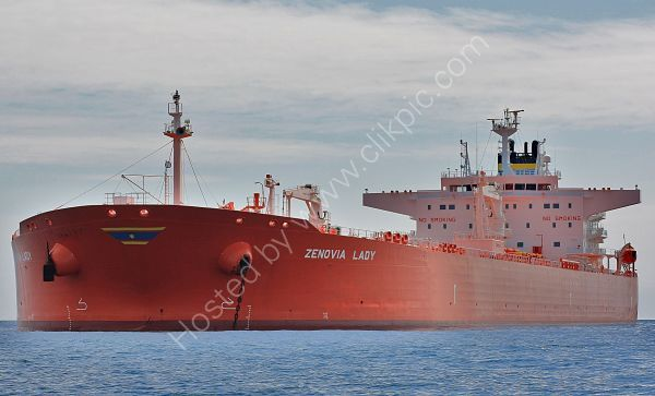 Ref PVT8 Zenovia Lady Tanker Torbay Deep Water Anchorage Gt Britain 2010 (C)RLT Aviation And Maritime Images 2018
