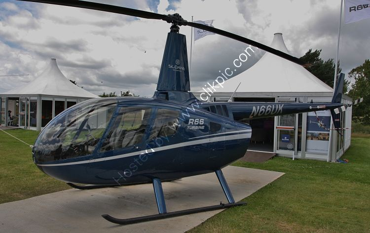 Ref R66-2 Robinson  R66 N66UK Goodwood Aerodrome West Sussex GB 2012 (C)RLT Aviation And Maritime Images 2018 opt