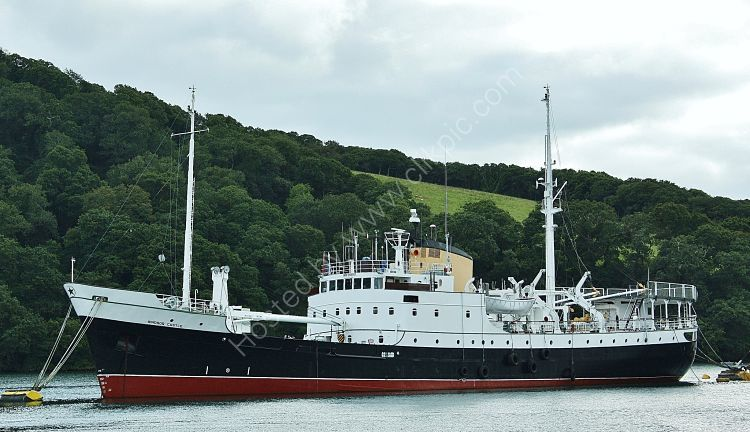 Ref TDR3 Windsor Castle Ex Northern Lights Tender Layed Up River Fal Cornwall Gt Britain 2012 (C)RLT Aviation And Maritime Images 2018