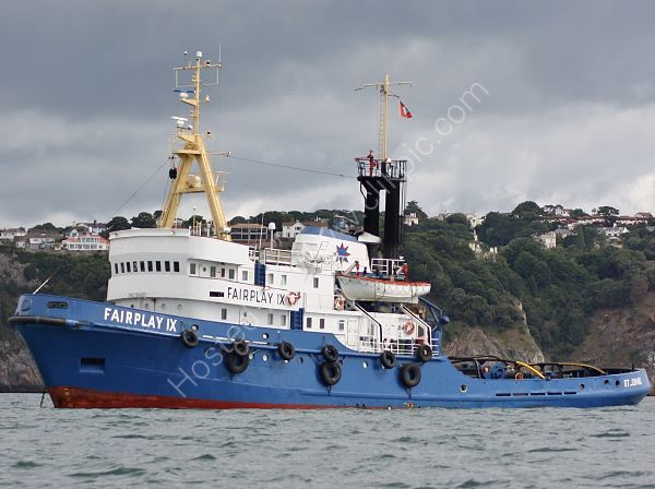 Ref TSV31 Fairplay IX Salvage Tug Torbay Gt Britain 2010 (C)RLT Aviation And Maritime Images 2018