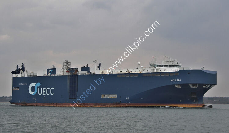 Ref VCR-210 Auto Eco Truck And Vehicle Carrier Southampton Water Hampshire GB 2021 (C)Copyright Reserved RLT-Aviation And Maritime Images 2021