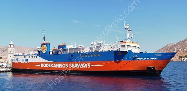 Ref VFPS8 Panagia Skiadeni Dodekanisos Seaways Isle Of Symi Greece 2013 (C)RLT Aviation And Maritime Images 2018