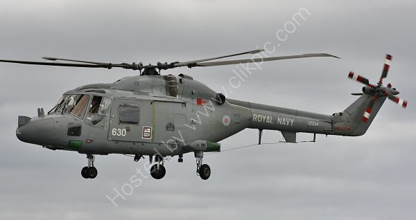 Ref WLX71 Westland Lynx HAS3 XZ234 Royal Navy RNAS Culdrose 2010 (C)RLT Aviation And Maritime Images 2018