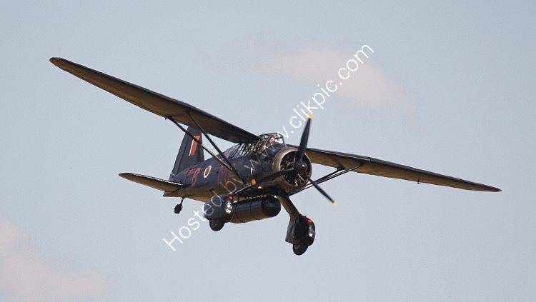 Ref WLY7 Westland Lysander IIIA V9367 G-AZWT RAF Private Owner Duxford Aerodrome Cambridgeshire Gt Britain 2010 (C)RLT Aviation And Maritime Images 2018