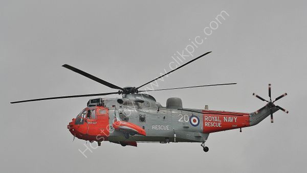 Ref  WSK93 Westland Sea King HU5 SAR ZA137 Royal Navy RNAS Culdrose Gt Britain 2013 (C)RLT Aviation And Maritime Images 2018