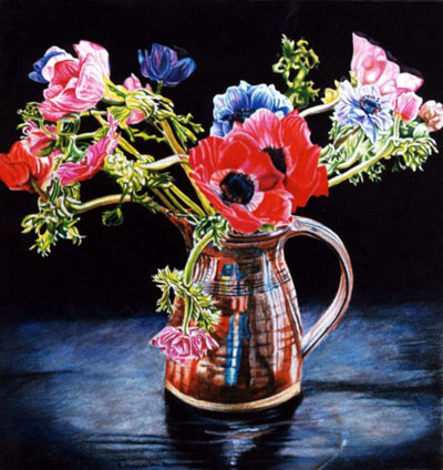 Anemone in jug