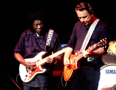 BUDDY GUY AND JIMMY VAUGHN