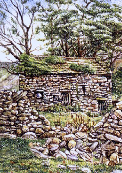 Old barn, Hartsop.