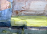 UNDER GREY SKIES (2) (Watercolour 25x16 unframed size)