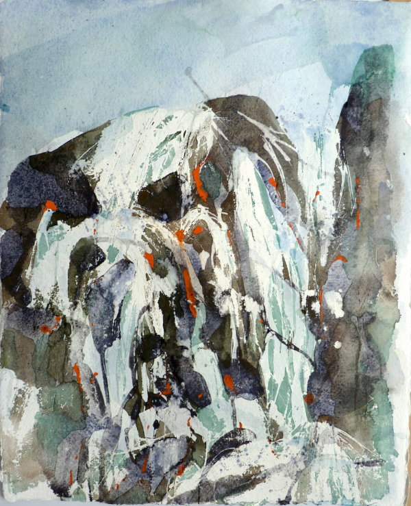 Water Falling (2).Now at Kunsthuis Gallery, Crayke, North Yorkshire to end of October.