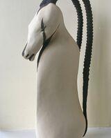 Arabian White Oryx Ewer
