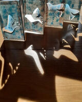 Birds Papercut Concertina Book