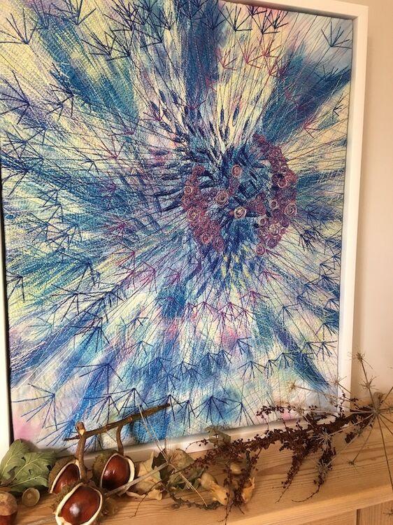 Blue Dandelion