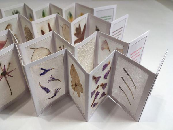 folded miniature books