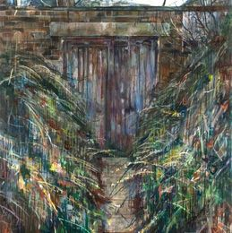 Doorway 90 x 130cm - Oil on board (University of Dundee collection)