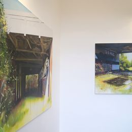 Terra Incognita, Ross M Brown solo exhibition at Arusha Gallery in Edinburgh (4)2