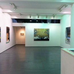 The Margins (Solo Exhibition) at EB&Flow Gallery, London