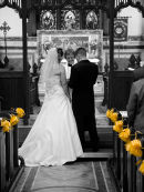 Church wedding photography in Bradford West Yorkshire