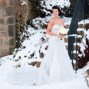 Winter wedding photography at Holdsworth House, Halifax, West Yorkshire.