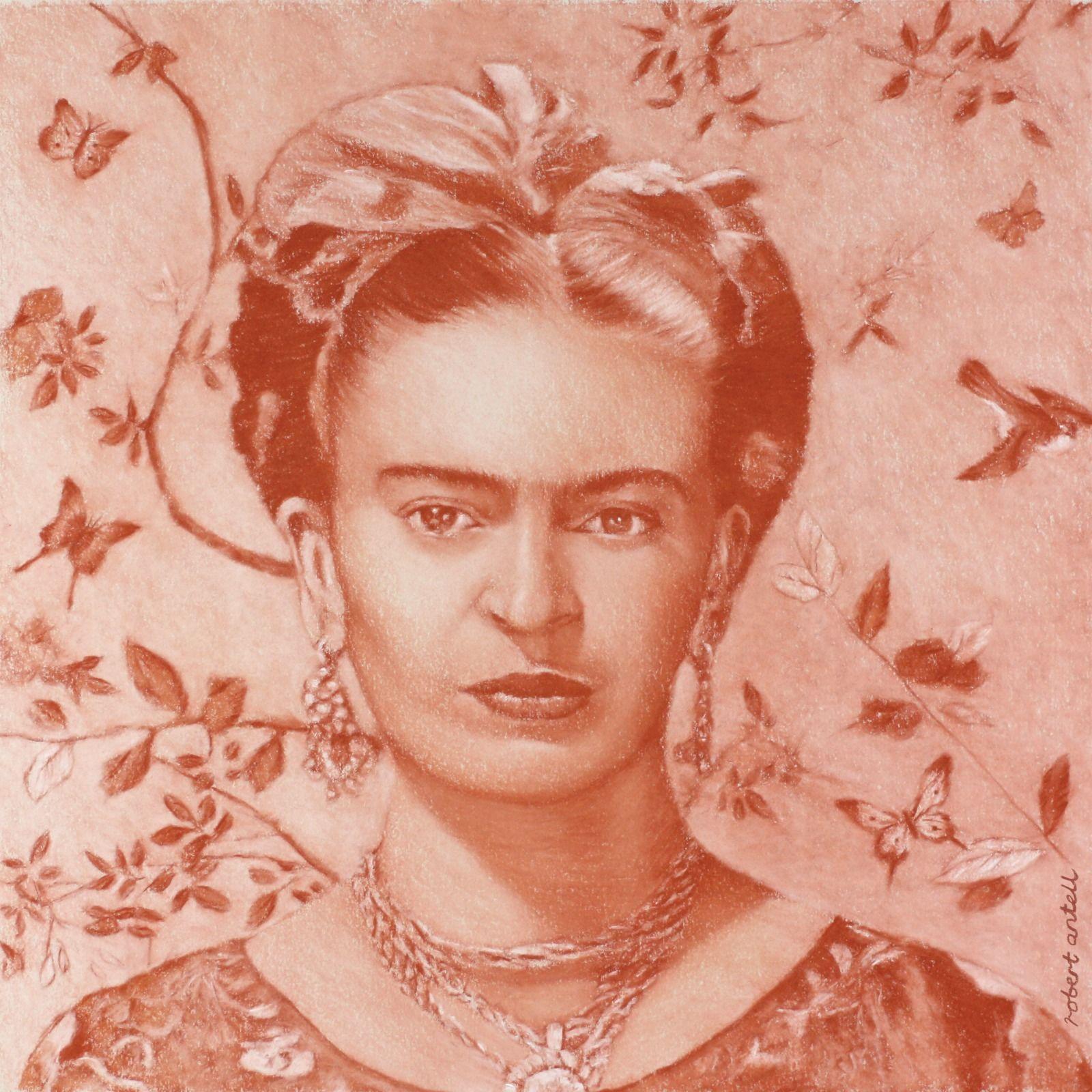 Frida Kahlo terracotta II