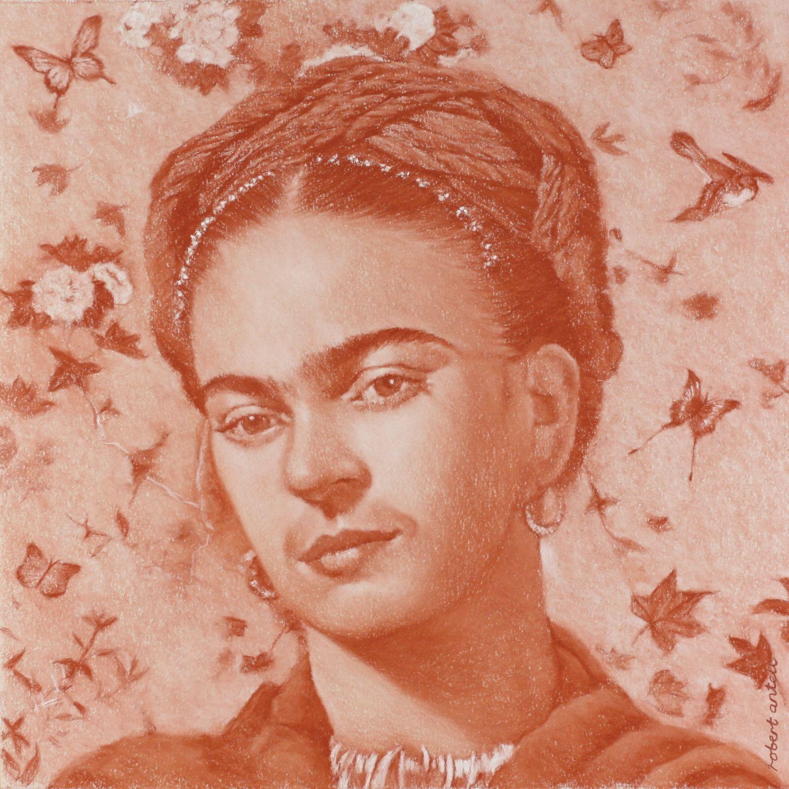 Frida Kahlo Terracotta