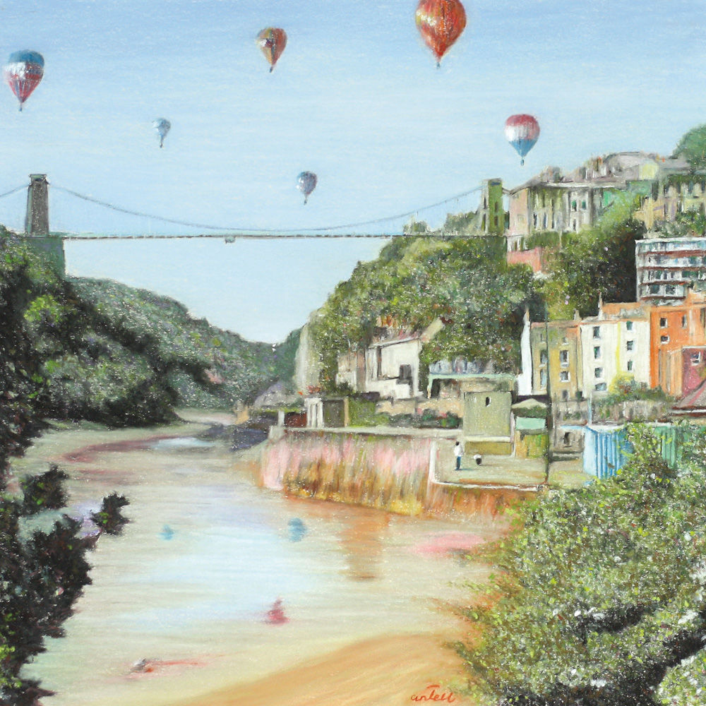 Balloons over the Bridge