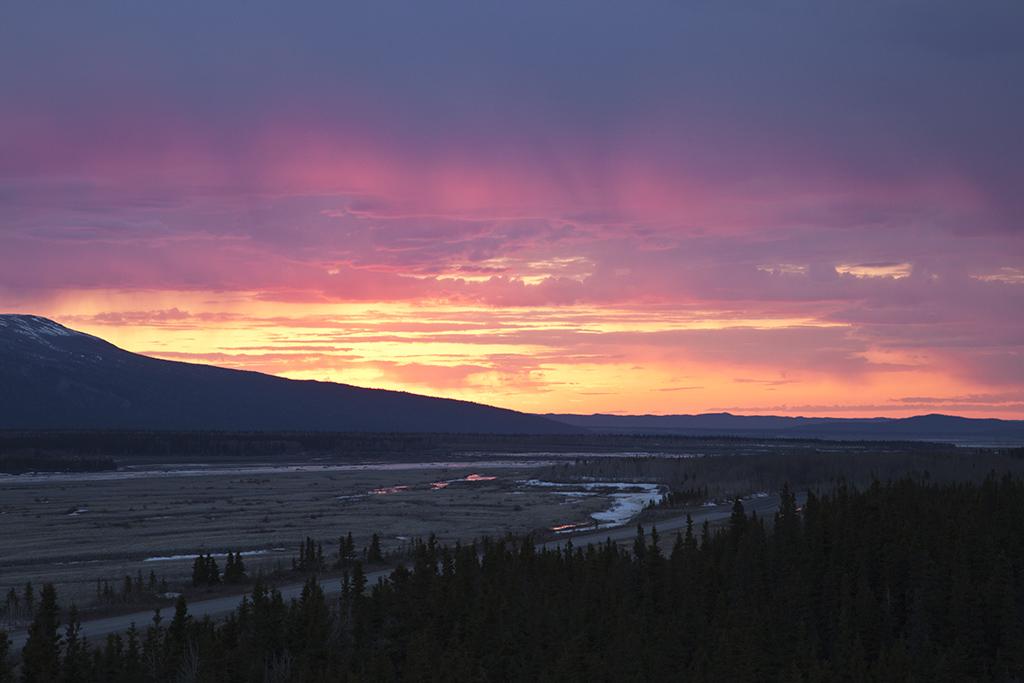 1am sunset