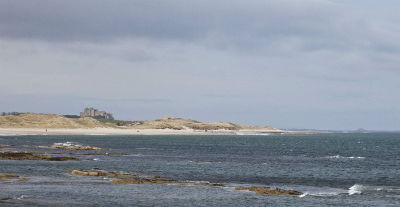 Bamburgh from Seahouses