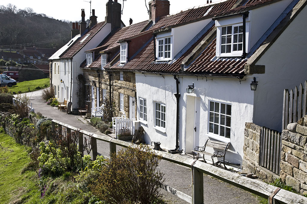 Cottages at Sandsend