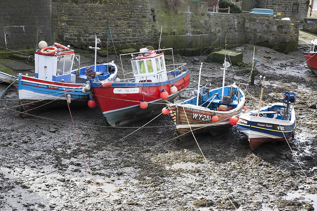 Fishing boats, Staithes