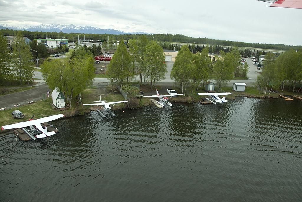 Float planes, Anchorage