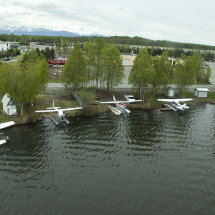 Float planes, Anchorage