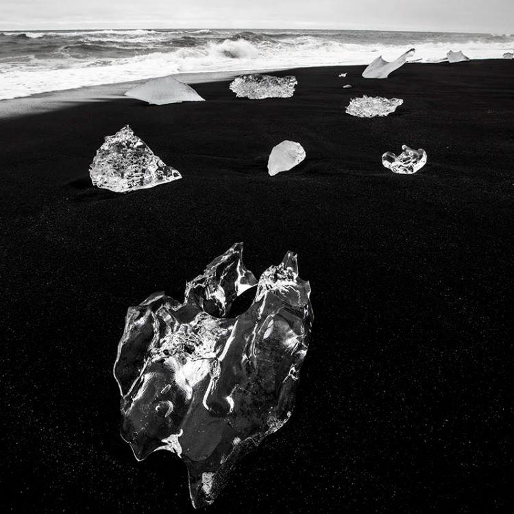 Ice on the beach  2