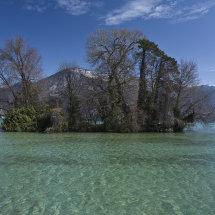 Ille de Cygne, Lac Annecy